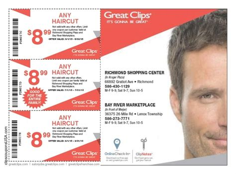 haircut coupons dfw great clips haircut sale hair styles for men