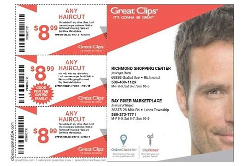 great clips coupon 8.99