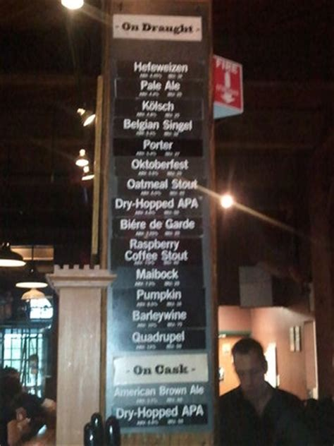 schlafly tap room menu menu the we dined drank picture of schlafly tap room louis tripadvisor