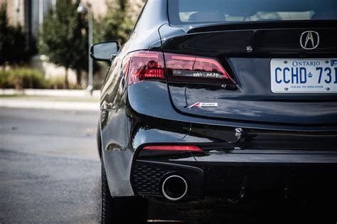 Tlx Exhaust Tips by Review 2018 Acura Tlx A Spec Canadian Auto Review