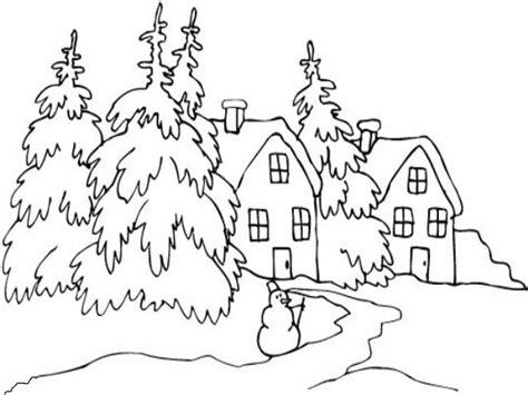 imagenes bonitas de paisajes para colorear e imprimir pintando y coloreando dibujos de paisajes