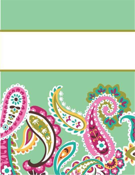 Vera Bradley Recipe Card Template by 32 Best Images About Lilly Pulitzer Vera Bradley Binder