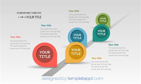 roadmap journey powerpoint template powerpoint