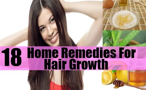 18 home remedies for hair growth how to grow