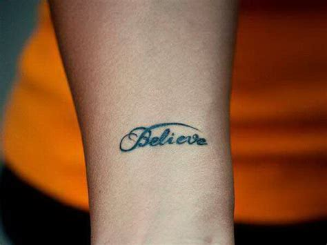 tattoos believe designs believe inspirational tattoos 5374839