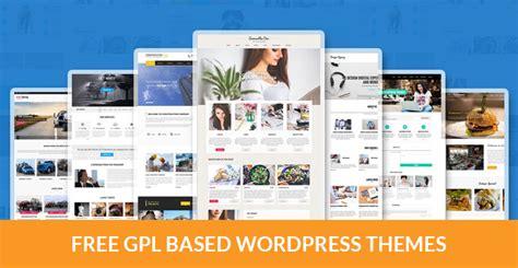 Wordpress Themes Free Gpl   free gpl based wordpress themes for free software lovers