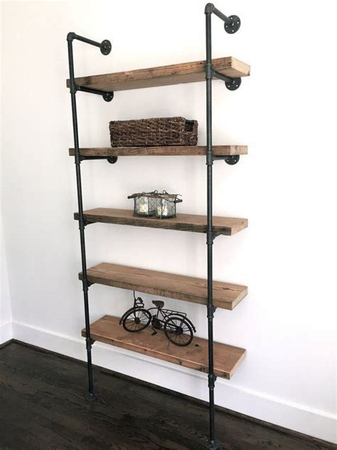 25 best ideas about industrial bookshelf on