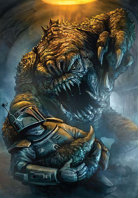 chris scalf scifi artist star wars illustrations by