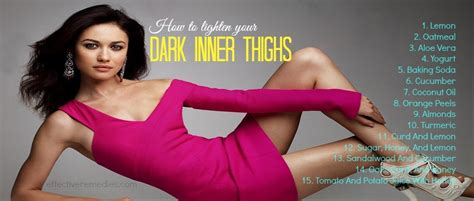 26 tips on how to lighten your dark inner thighs naturally