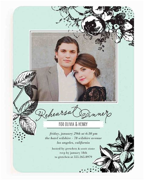 rehearsal dinner invitations wedding paper divas invitations martha stewart weddings