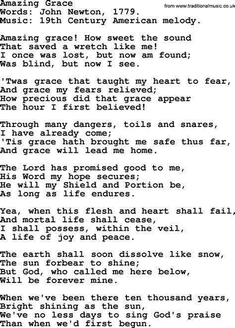 Wedding Bible Hymns by Wedding Hymns And Songs Amazing Grace Txt Lyrics