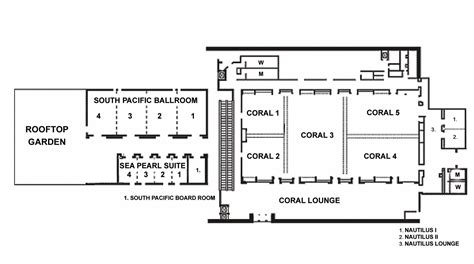 conference floor plan event and meeting venues in honolulu hawaii hilton