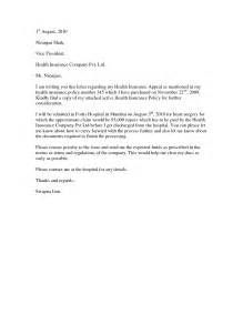 Dental Appeal Letter Template Sle Letter To Insurance Company Requesting Policy