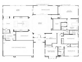 5 Bedroom House Plans 1 Story For Single Bedroom Ideas Single Story 5 Bedroom