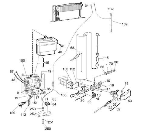 refrigerator parts dometic refrigerator parts list