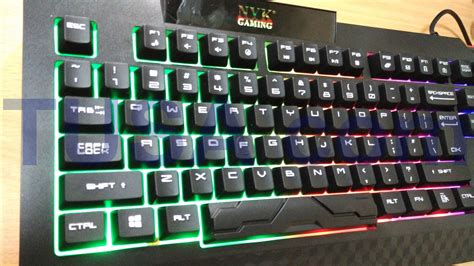 Keyboard Gaming Murah jual keyboard gaming nyk black axe k 03 k03 lu rgb
