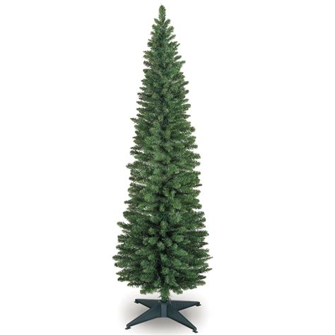 120cm 4ft pencil slim green artificial christmas tree