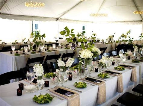 Creative Tent Layouts Rectangle Wedding Tables Rectangular Tables At Wedding Reception
