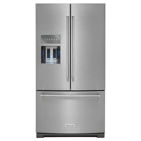 kitchenaid refrigerator drawer manual kitchenaid 36 in w 26 8 cu ft french door refrigerator