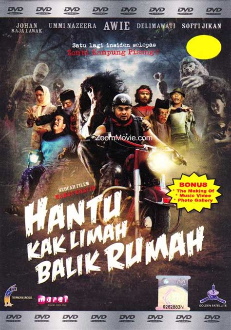 film hantu rumah era hantu kak limah balik rumah dvd malay movie cast by awie