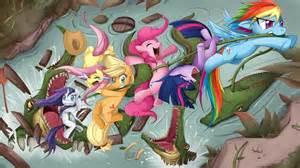 My little pony fluttershy rainbow dash twilight sparkle rarity pinkie