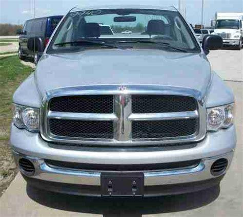 2004 Dodge Ram 1500 2wd Purchase Used 2004 Dodge Ram 1500 2wd Slt Reg Cab Silver