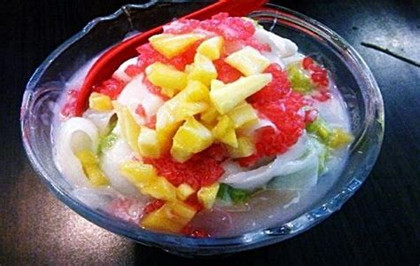 cara membuat es buah bandung resep es oyen spesial dan istimewa khas bandung