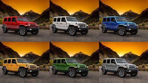 2020 Jeep Wrangler Unlimited Rubicon Colors by 2019 Jeep Wrangler Colors 2019 2020 Jeep