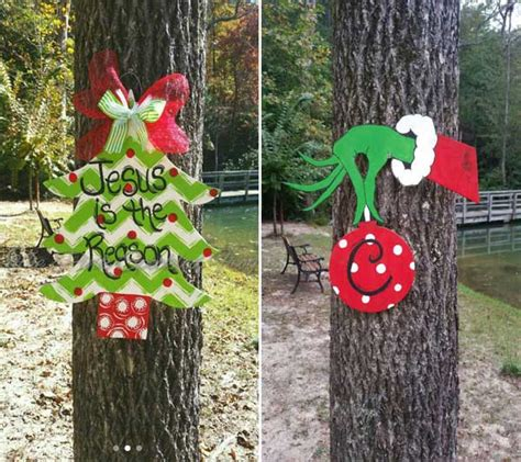 10 cool ideas to decorate garden or yard trees for