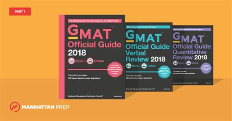 Mba Gmat Official Edition by The Gmat Official Guide 2018 Edition Part 1