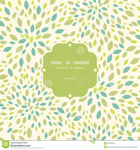 leaf pattern vector background leaf texture frame seamless pattern background stock