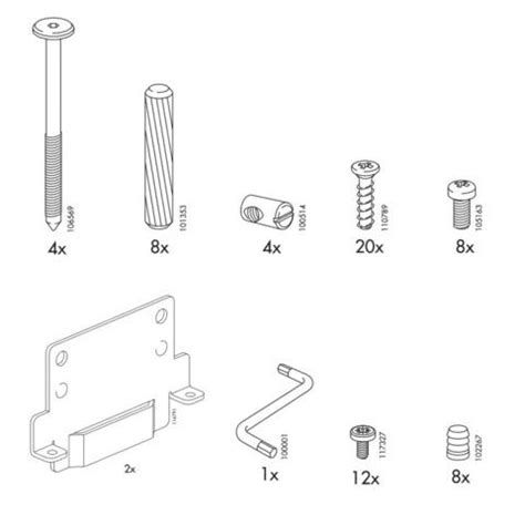 ikea bed parts ikea ramberg bed frame replacement parts furnitureparts com