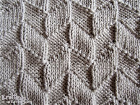 knit stiches this easy design uses only the knit k and purl p