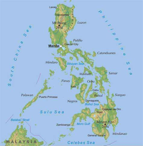 Best Quality Map A4 Bunga Murah philippines travel tips things to do map and best time to visit philippines