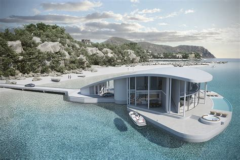 Large Luxury Homes by Stingray Floating House By Tangram 3ds Hiconsumption
