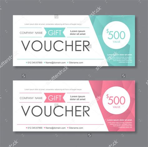 Gift Voucher Template Word Free Download Planner Voucher Templates Word