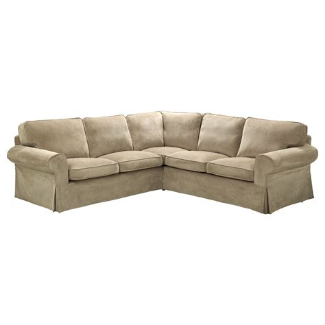 ektorp corner sofa 2 2 slipcover vellinge beige ikea
