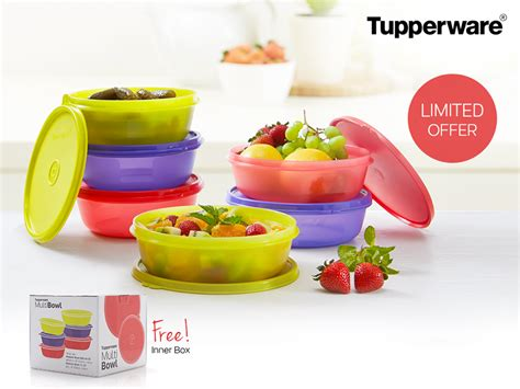 Tupperware Multi Bowl Set multi bowl tupperware tupperware indonesia promo