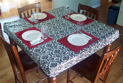 Tablecloths For Tables running with scissors fitted simple tablecloth
