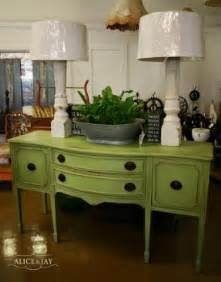 Green Buffet Table Dining Room Sideboards And Buffets Foter