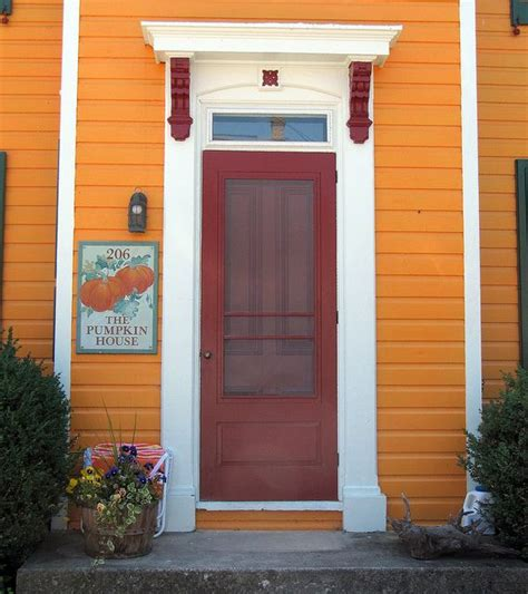 orange house 17 best images about orange houses on pinterest queen anne ontario and colors