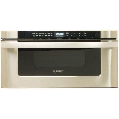 sharp refurbished insight pro 1 2 cu ft microwave drawer