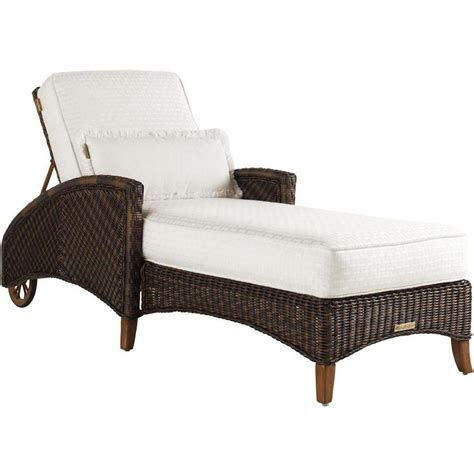 tommy bahama chaise lounge tommy bahama island estate lanai wicker patio chaise