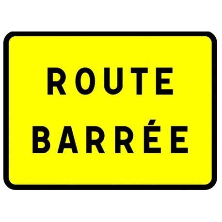 panneau d'indication type kc1 route barrée wazabat
