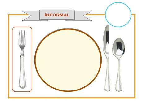 place setting template home setting the table