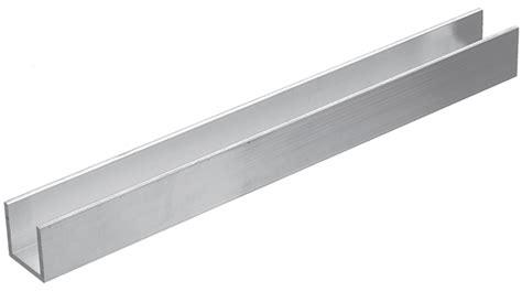 List Alumunium U en aw6060 t66 15x15x2mm uprofil av aluminium l 228 ngd 1 m