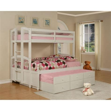 bunk beds full over queen full over queen bunk bed with stairs twin over queen bunk
