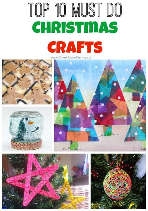 top 10 must do christmas crafts