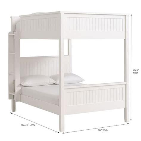 beadboard bed beadboard bunk bed pbteen