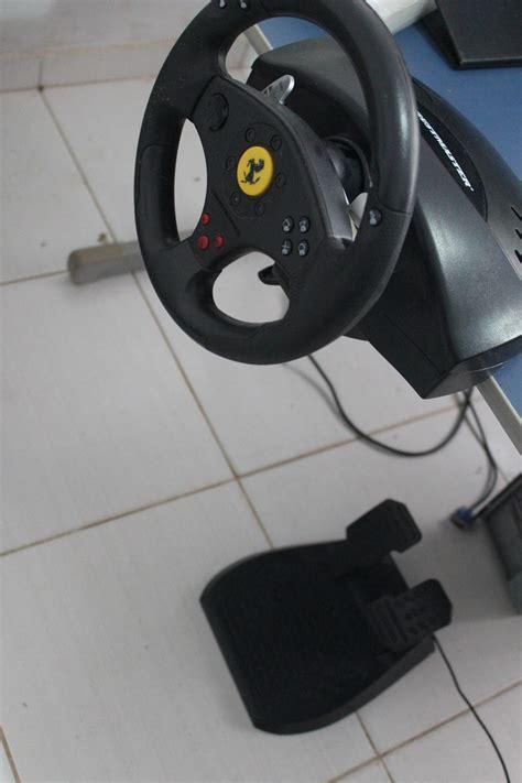volante thrustmaster ps3 volante pedais ps3 e pc thrustmaster